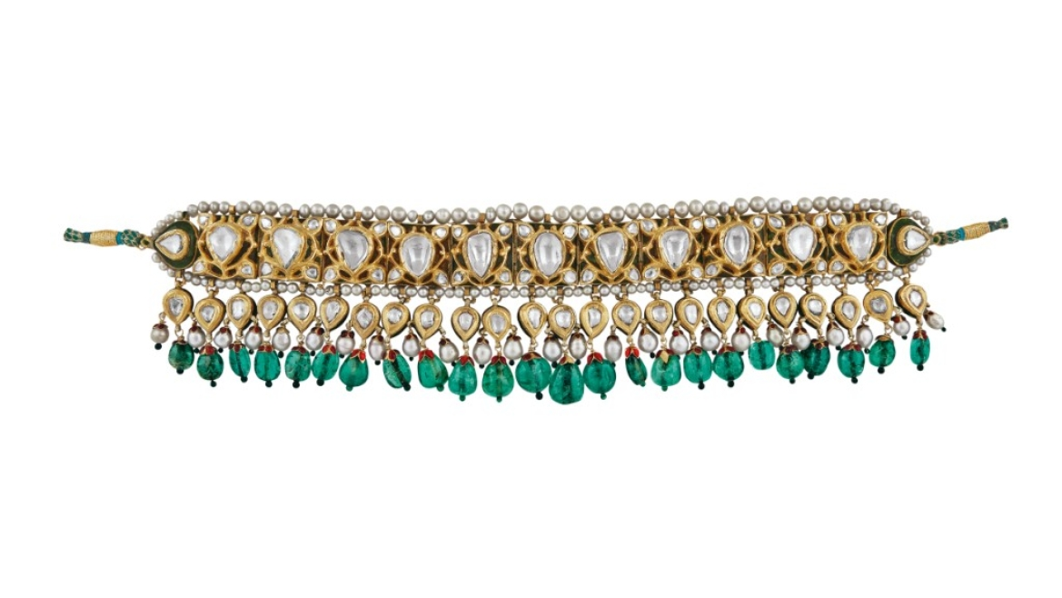 Chintak (necklace), Deccan, early 18th century
