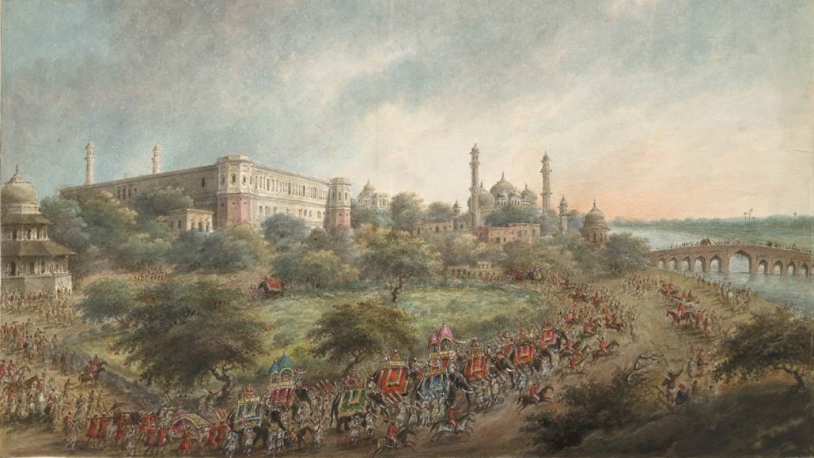 A view of Lucknow under the Nawabs
