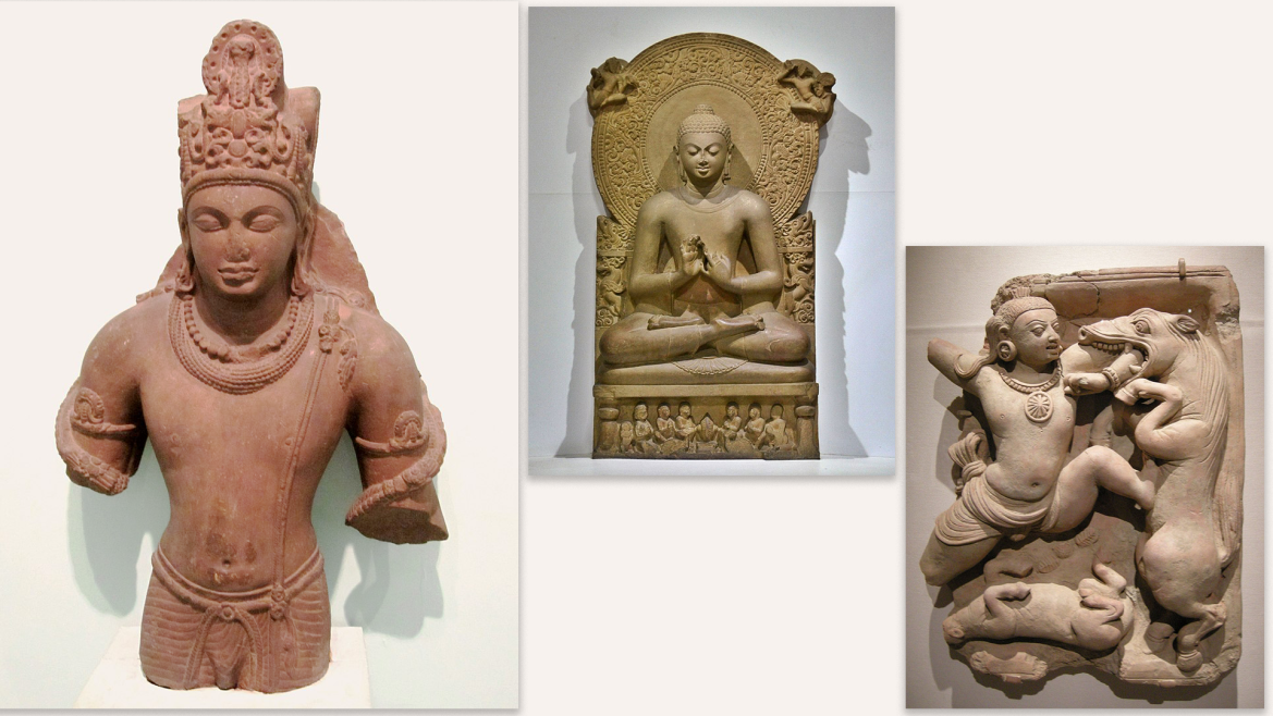 Sculptures belonging to Gupta Period