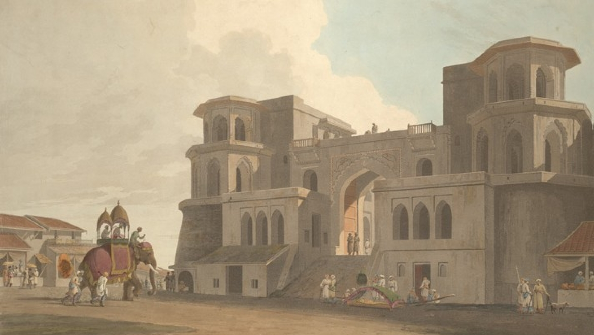 The Nawab's Palace in Lucknow