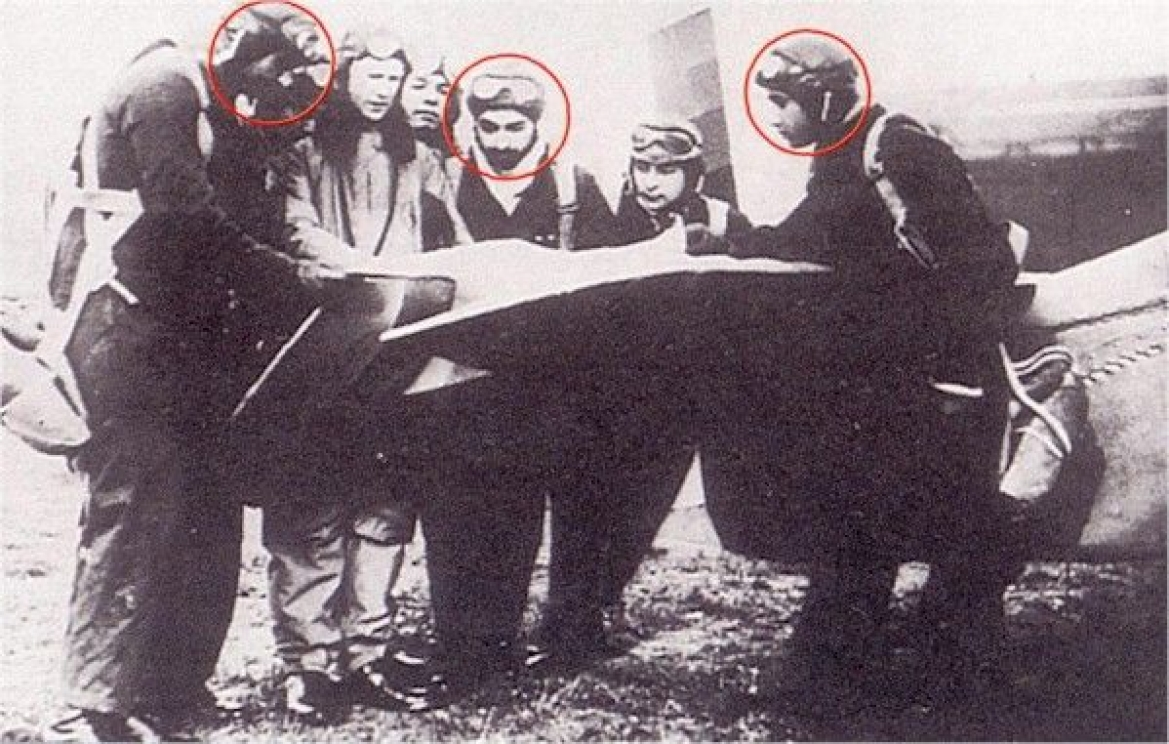 First batch of IAF Pilots, 1932