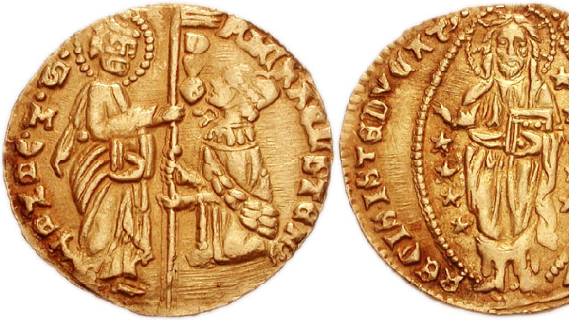 Gold ducat of doge Michele Steno of Venice (1400)