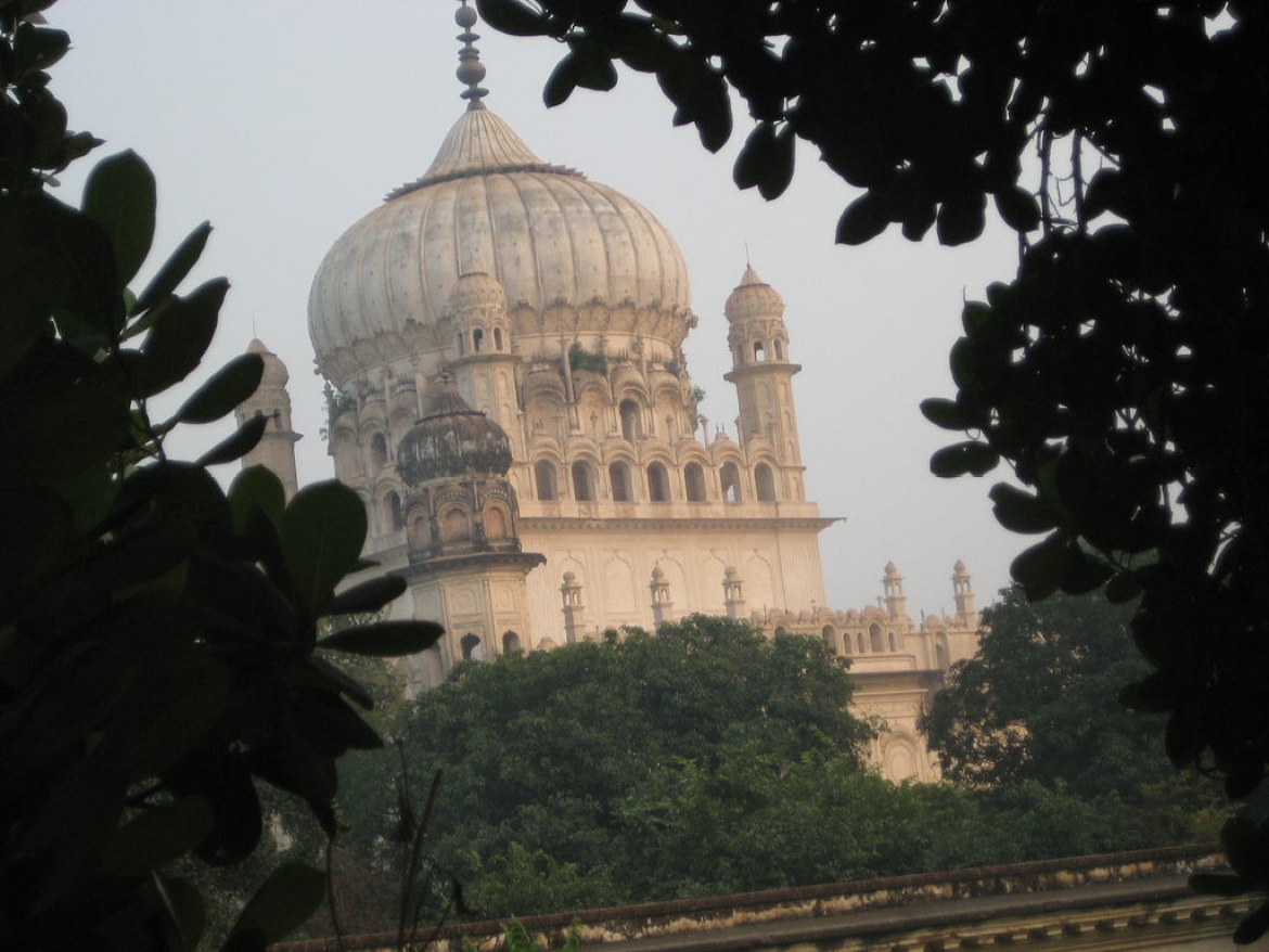 The tomb of Bahu Begum in Faizabad