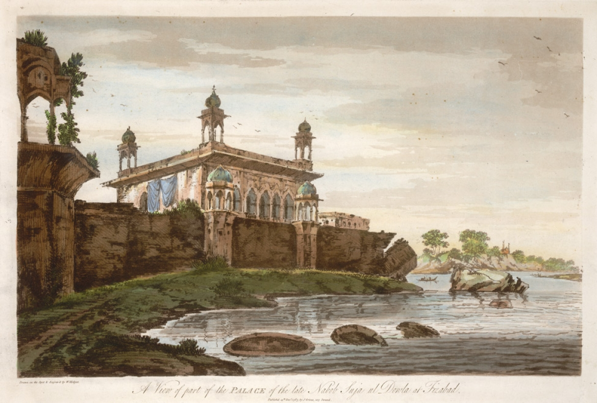 Another view of the Faizabad Fort (1787)