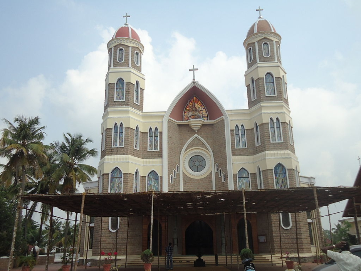 Syrian Church at Angamaly near Kochi