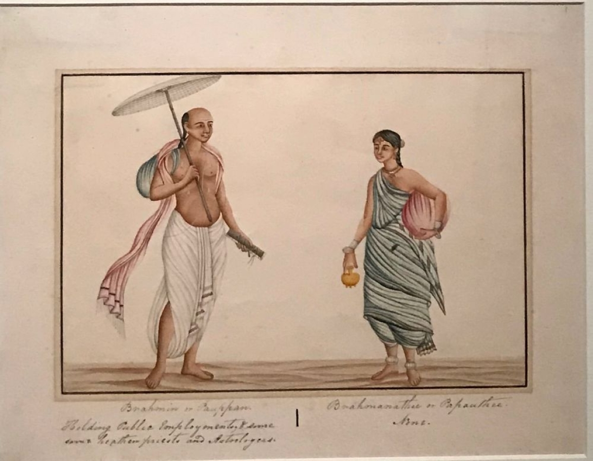 A Brahmin couple