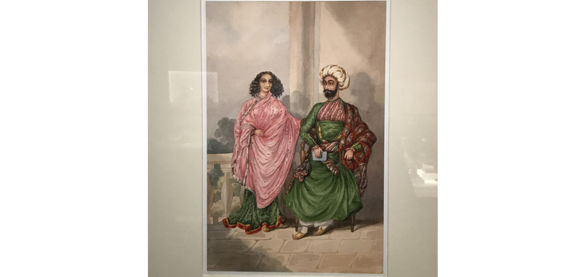 A Persian couple