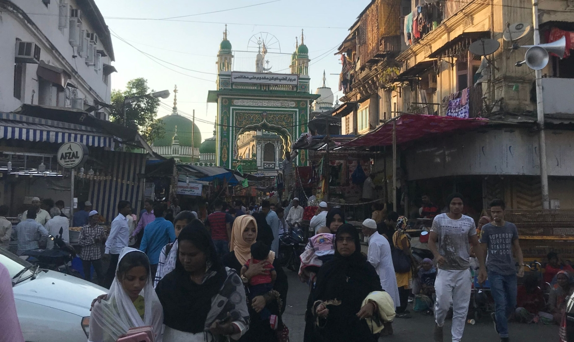 Street leading to the Dargah