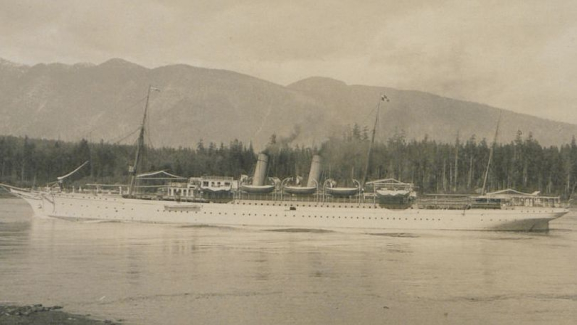 RMS Empress of India, as the ship was originally called