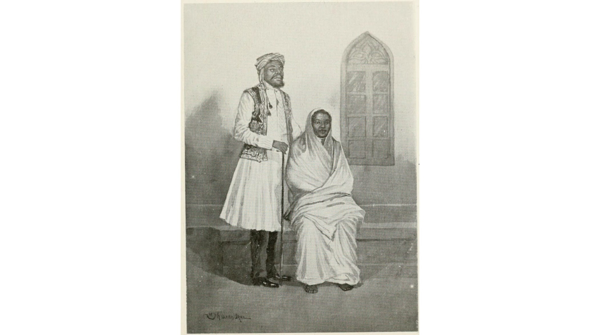 Siddi couple in Bombay