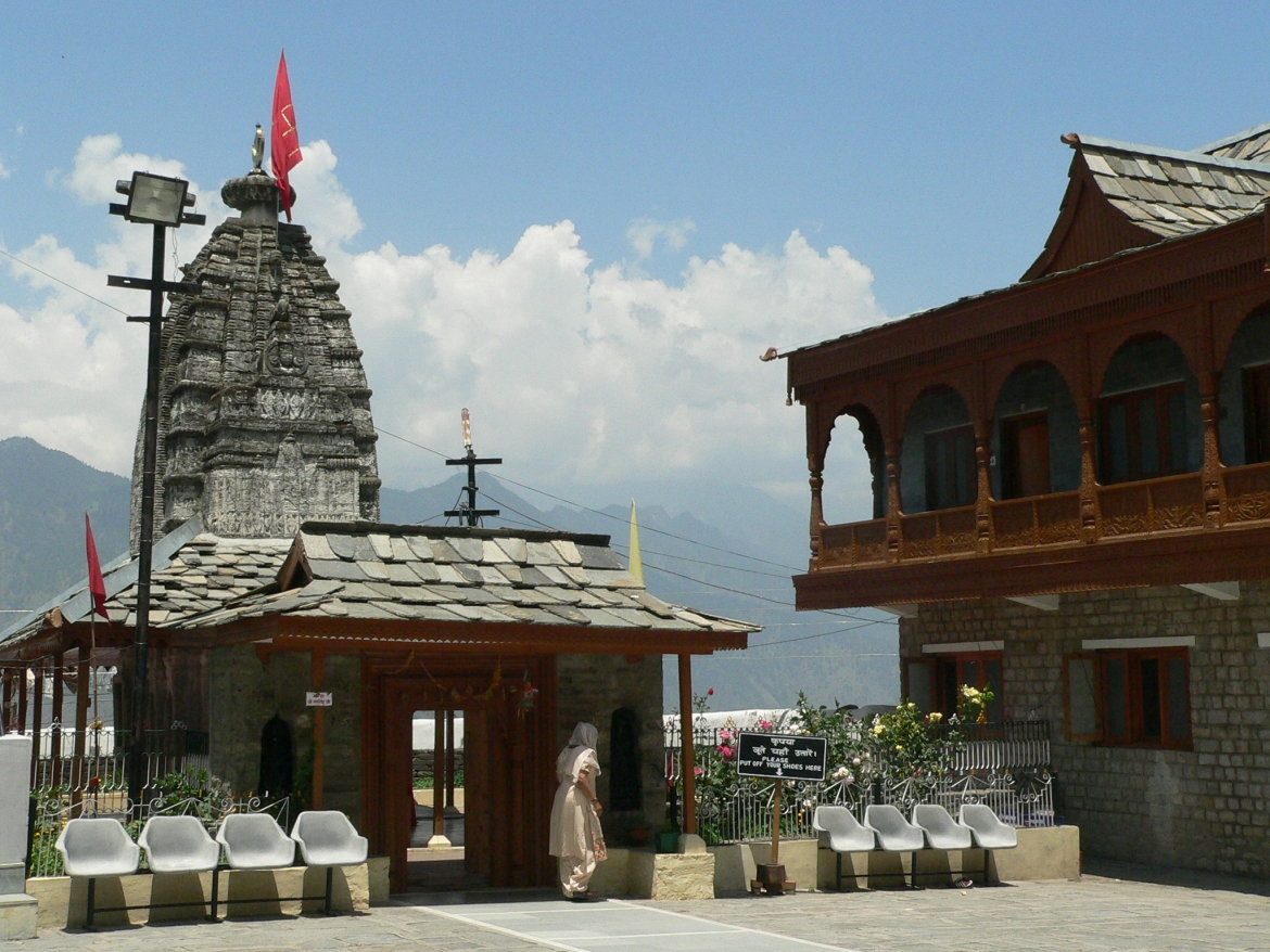 View of Narsingh Temple