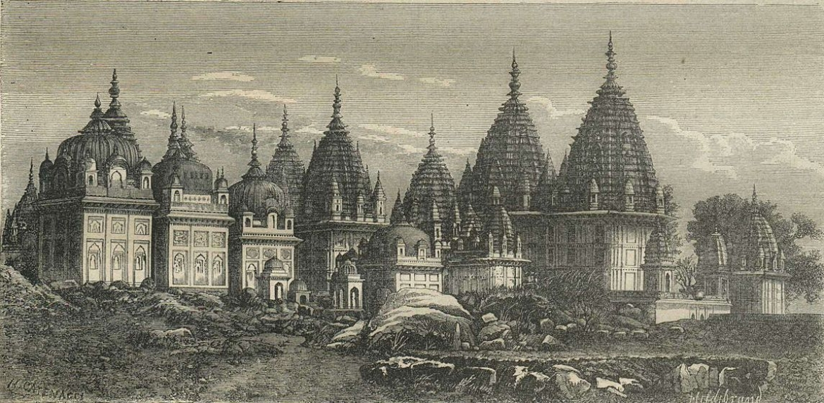 Chhatris of the Rajs of Jhansi