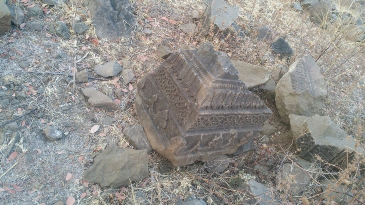 Remains of a temple pillar