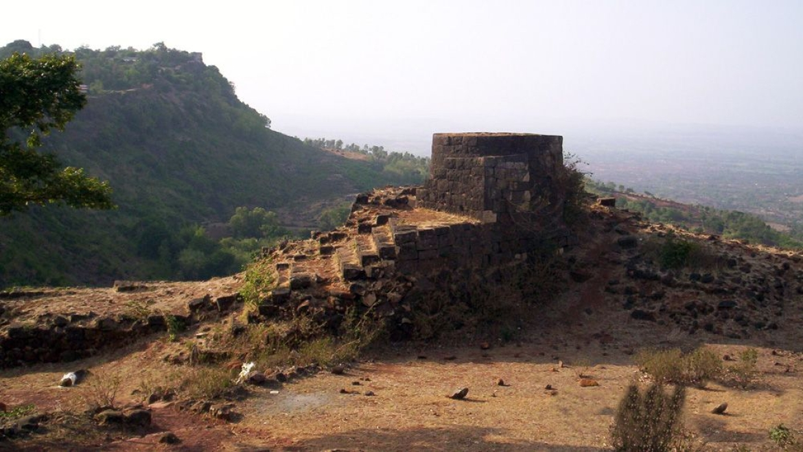 Ruins of the Panhala fort