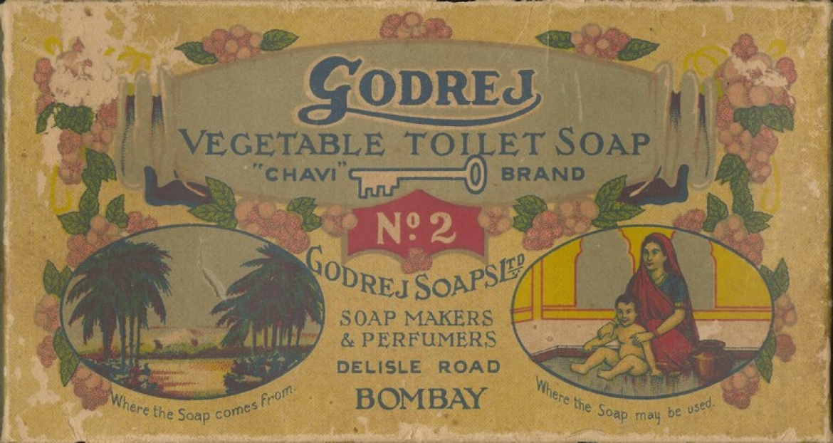 Old packaging Godrej No. 2