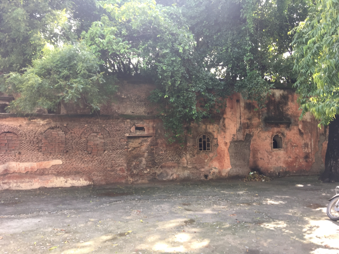 Rear facade of Hammam, Pilibhit