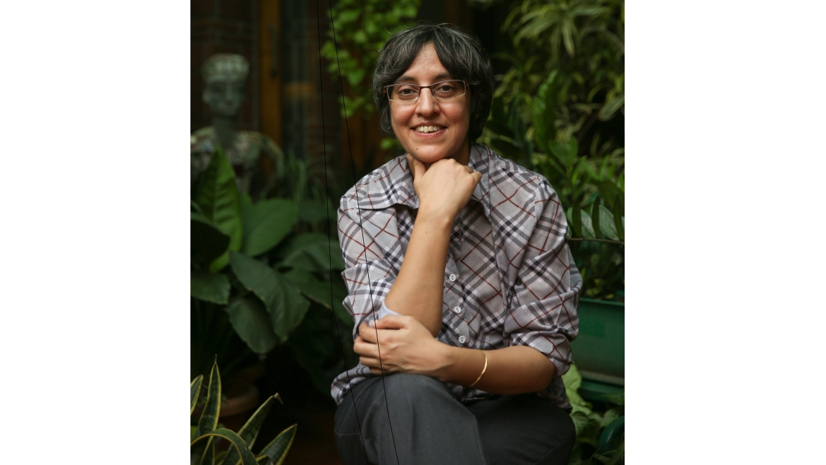Author Parvati Sharma
