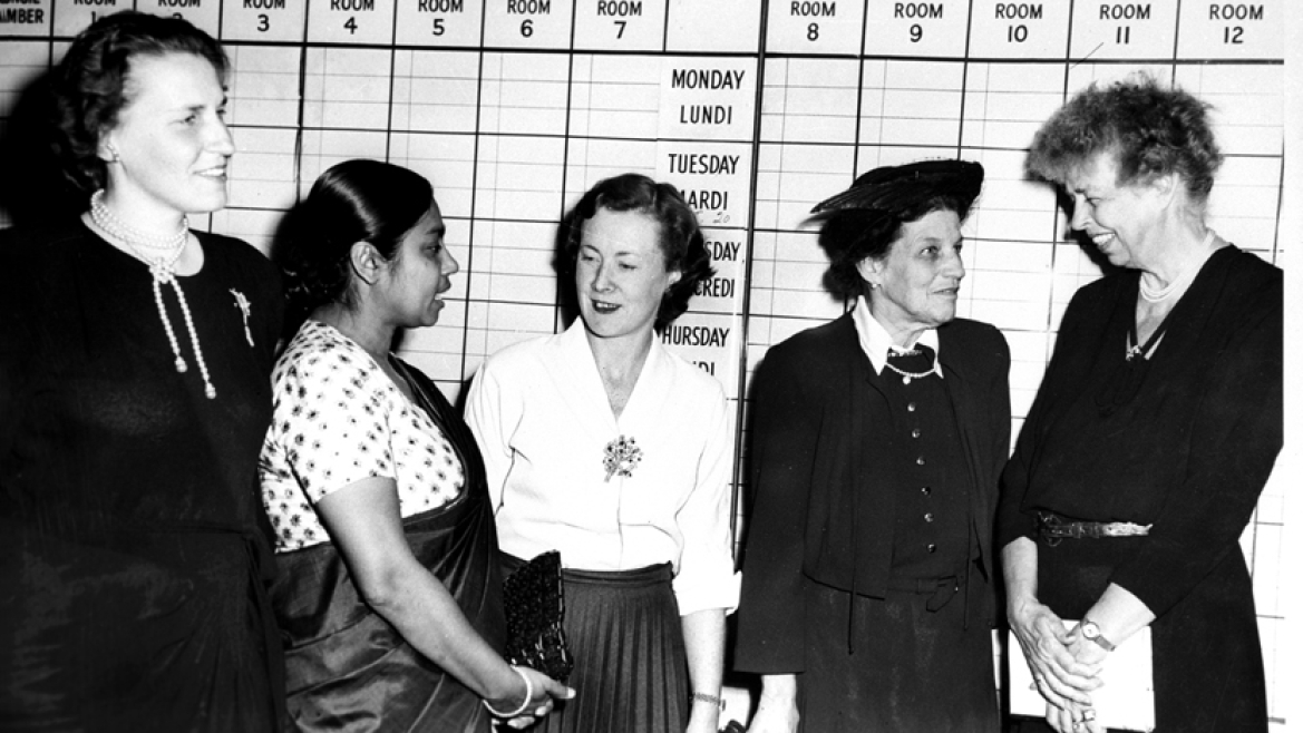 Sucheta Kriplani was among the women representatives to the United Nations General Assembly in 1949