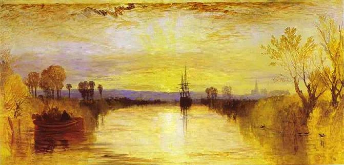 Chichester Canal by JMW Turner