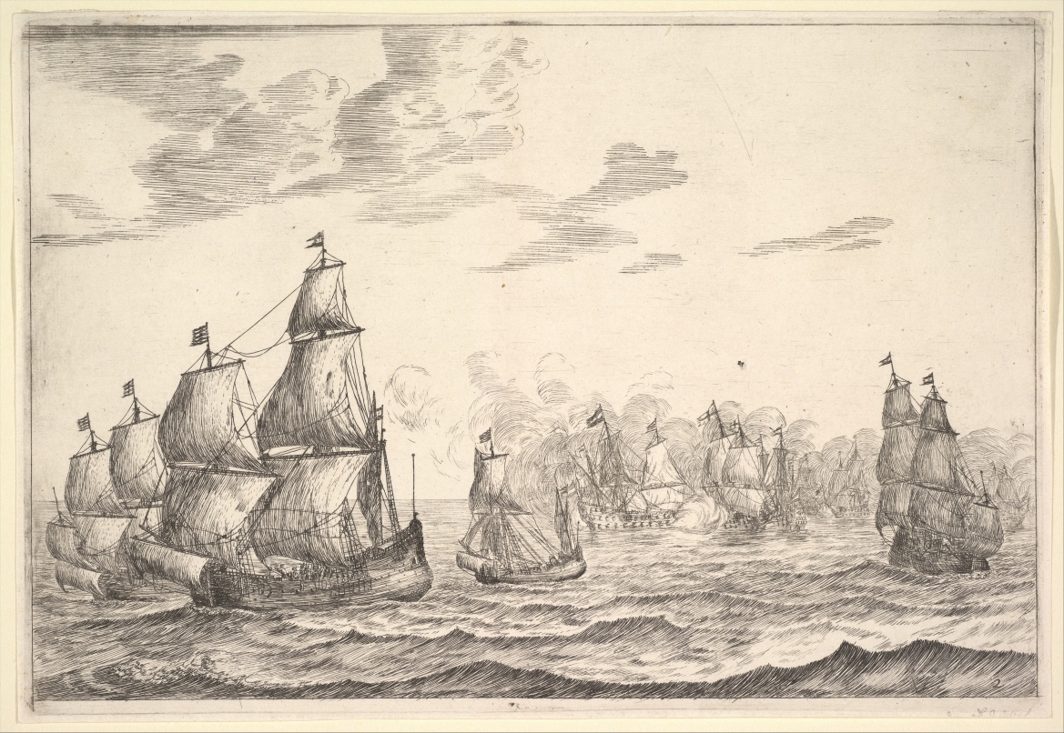 <b>Naval Battle Scene</b>