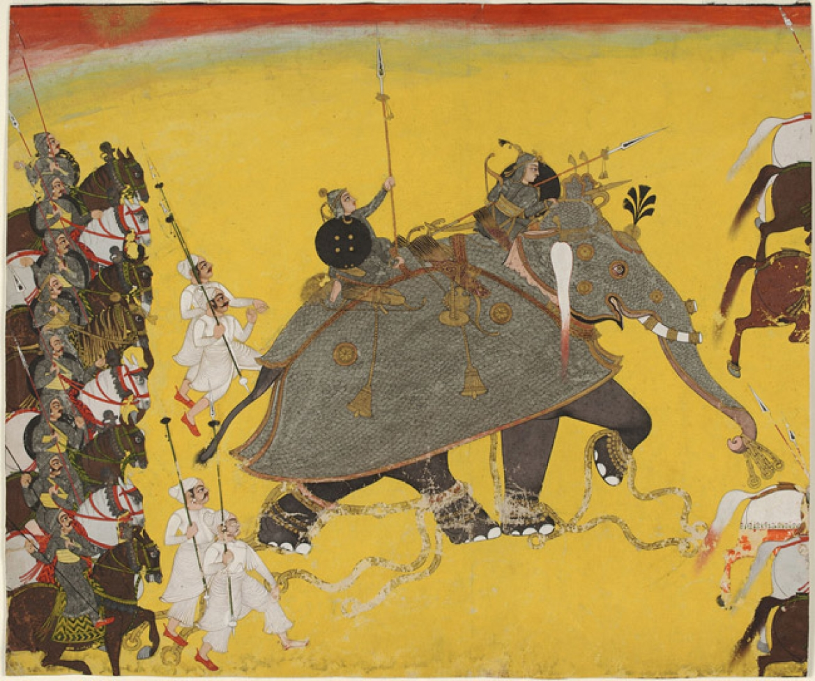 Elephant in Battle (Kota)