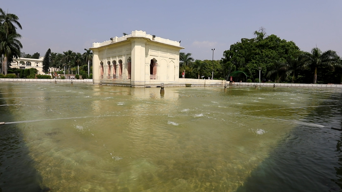 The summer palaces in Pinjore Gardens were meant to be summer retreats