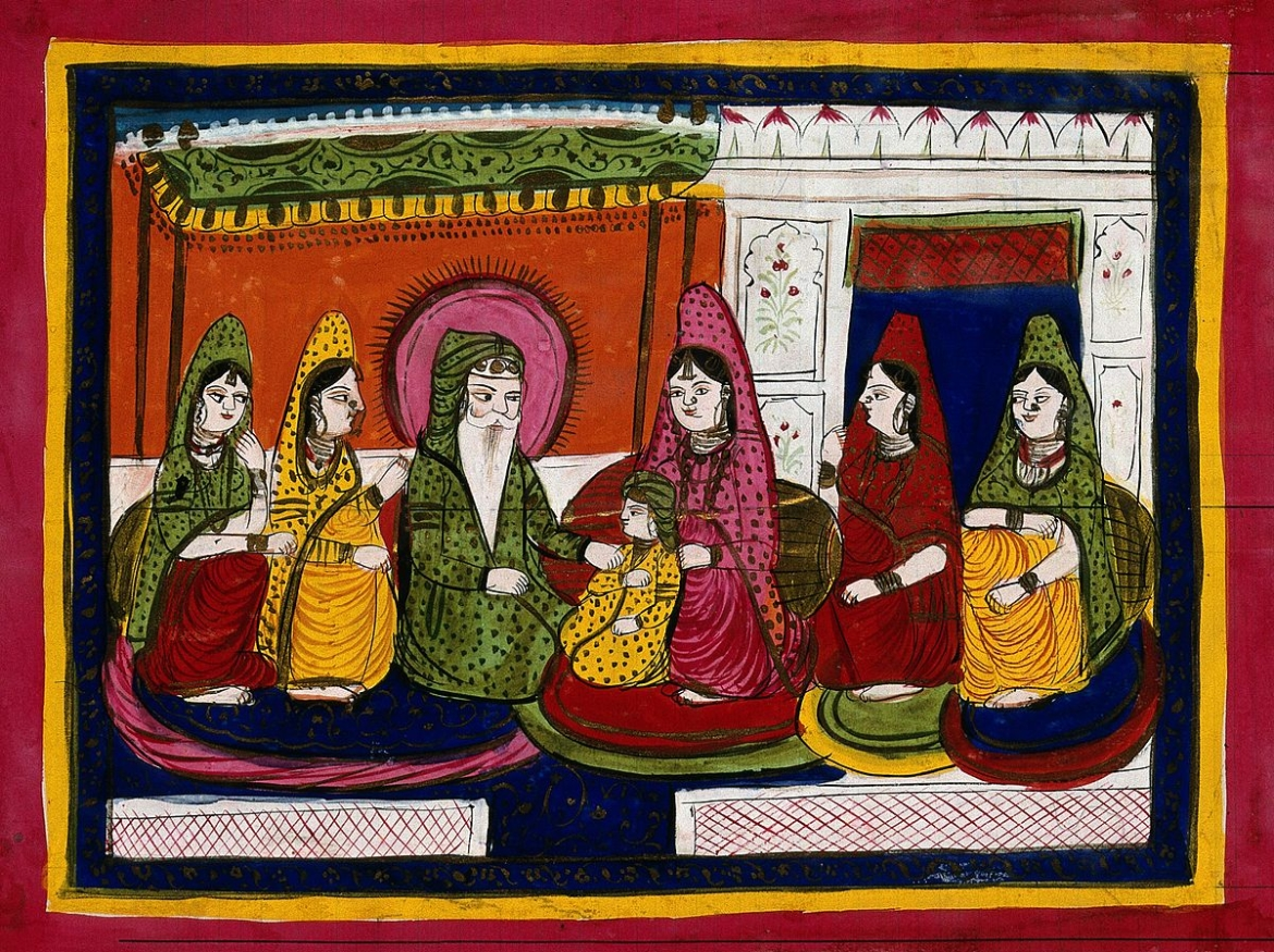 Ranjit Singh and his wives