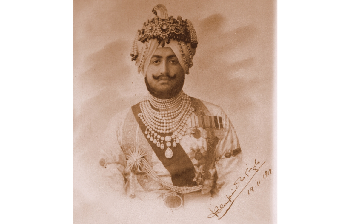 Maharaja Bhupinder Singh of Patiala, Chancellor, Chamber of Princes (1926-1931)