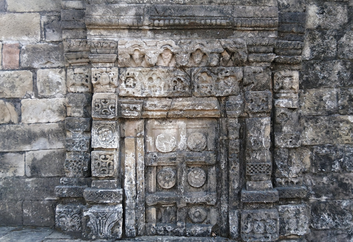 The intricate carvings