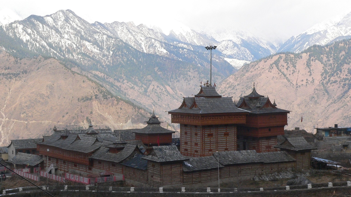 Mesmerizing view of the Bhimakali Temple at Sarahan