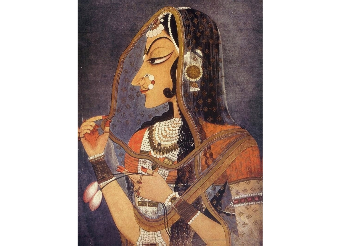 Bani Thani (ca. 1750), National Museum, New Delhi