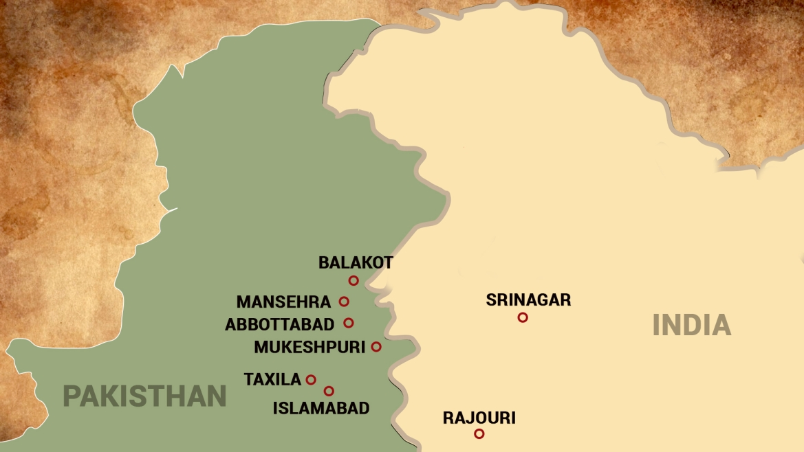 Location of Balakot