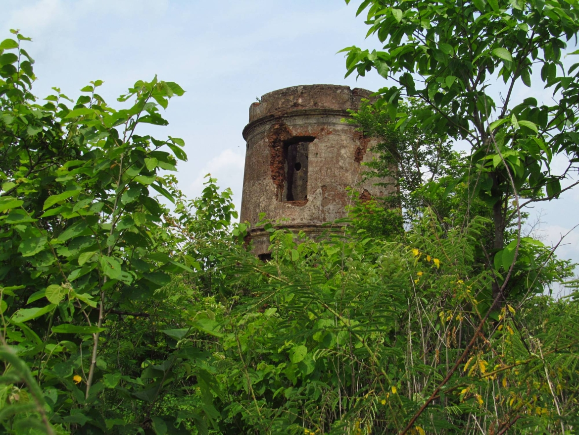 Two Storied Tower at Satanpur Hills