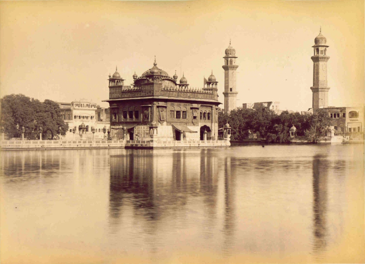 Golden Temple, 1880