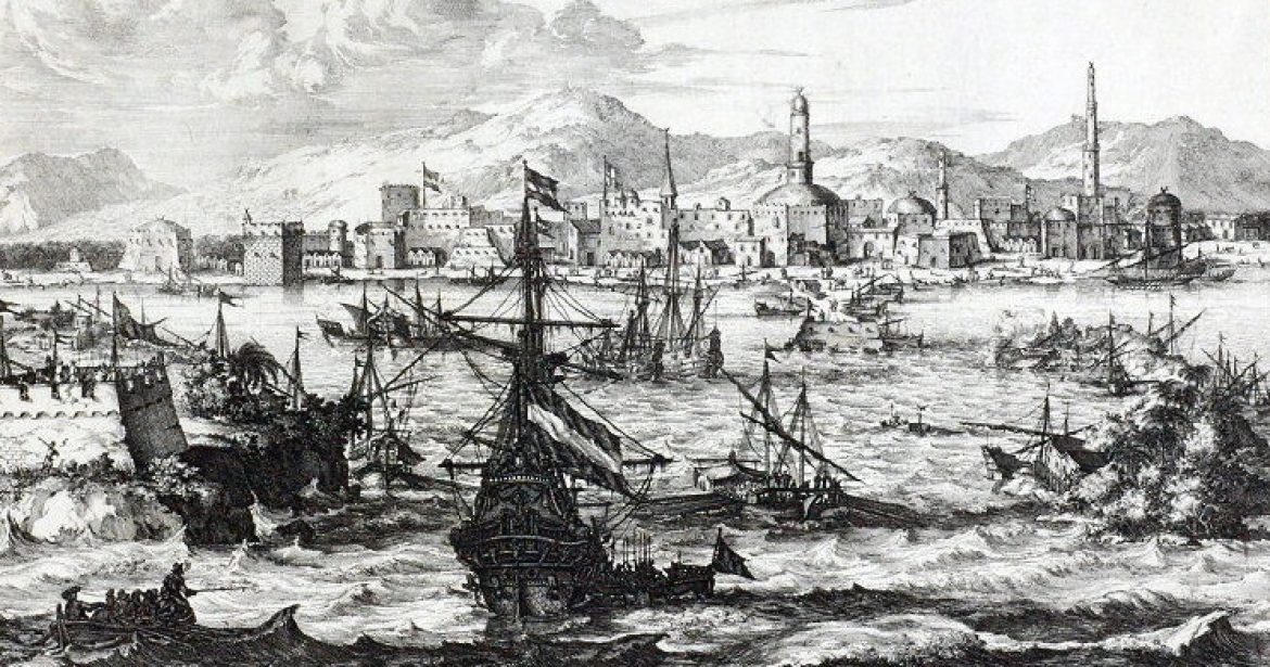 View of Mocha during the second half of the 17th century