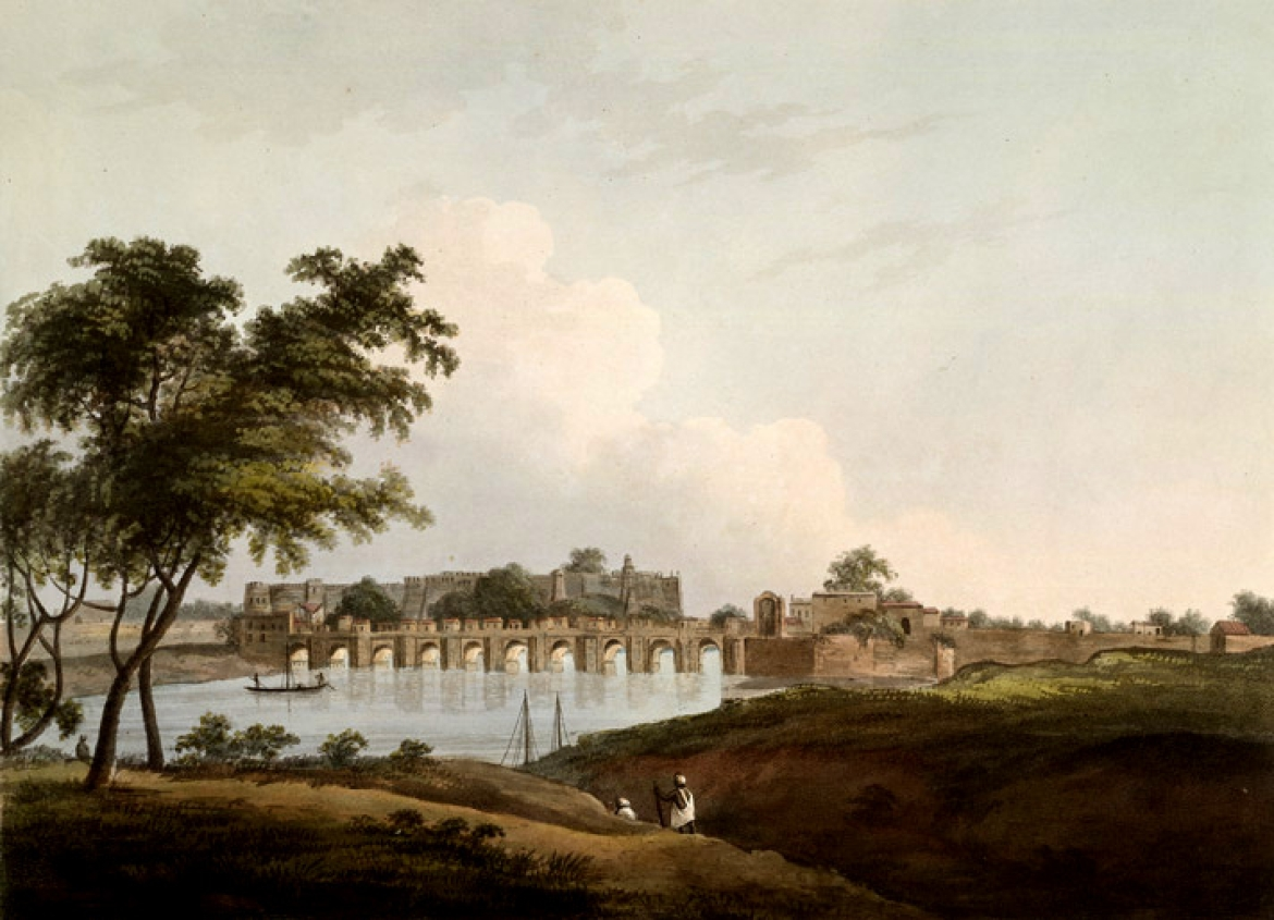 Shahi Bridge, Thomas Daniell, 1804 CE