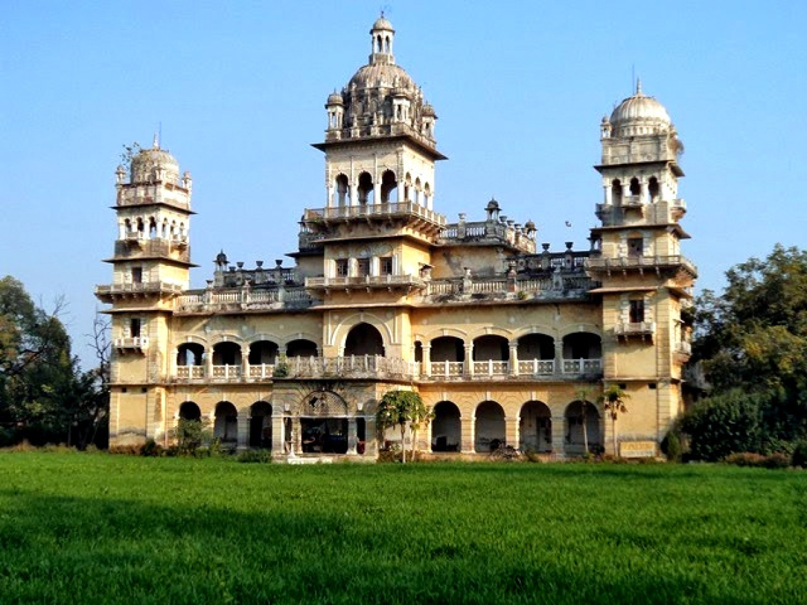 The Palace of the Raja of Jaunpur
