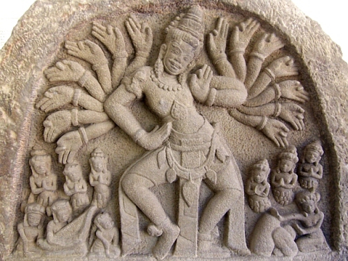 Sculpture of Shiva from Champa, Vietnam