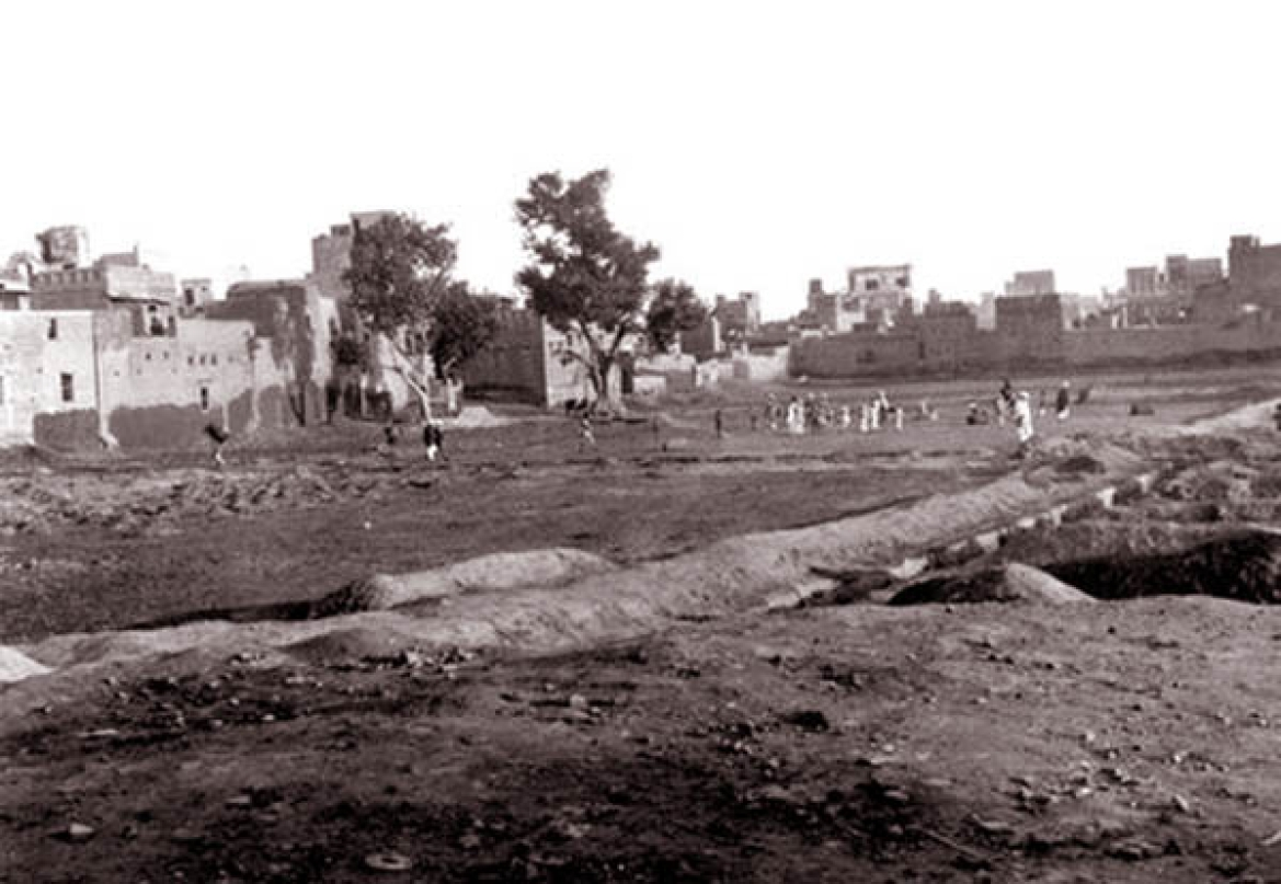 Historical photo of Jallianwala Bagh