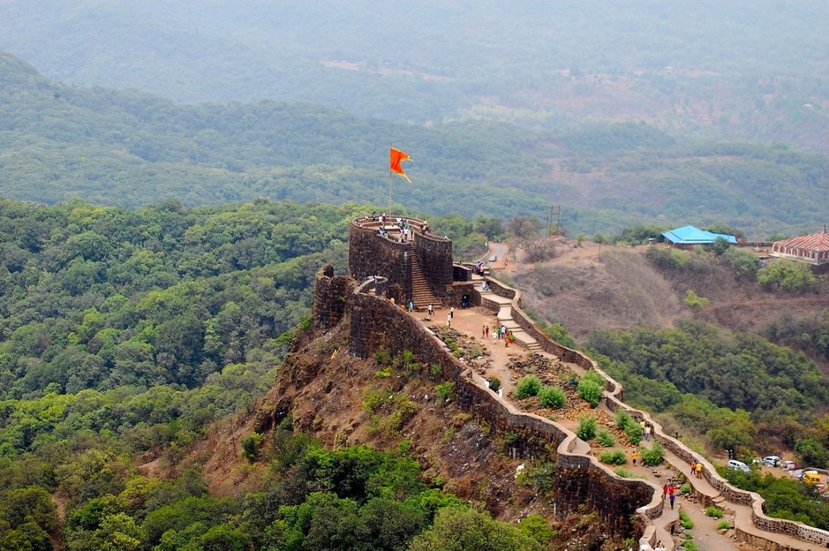 Pratapgad, built by Chhatrapati Shivaji when Mahabaleshwar was under him