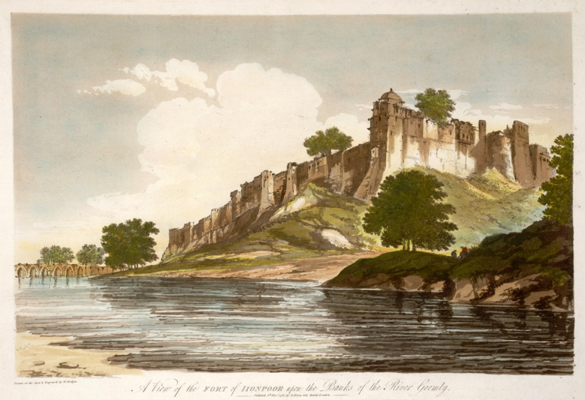 Jaunpur, William Hodges, 1787