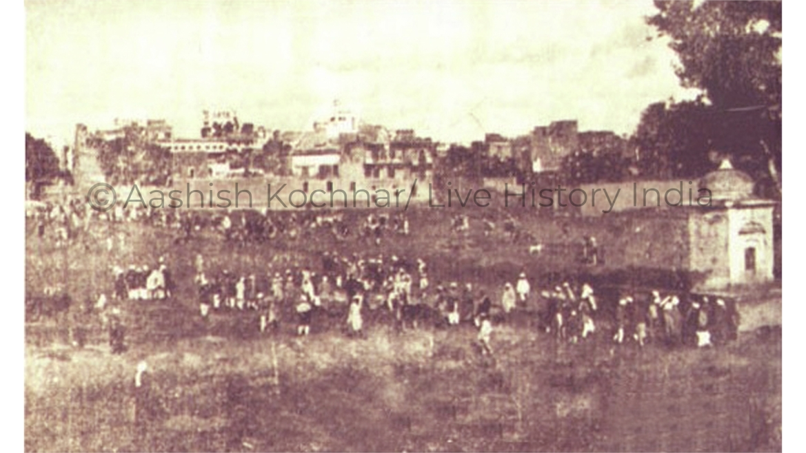 Jallianwala Bagh after the massacre