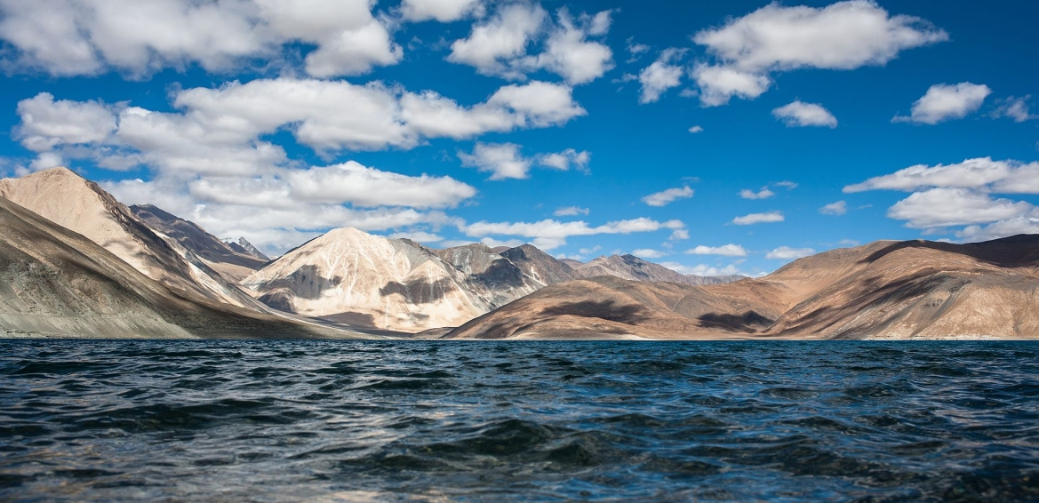 A view of Pangong Lake