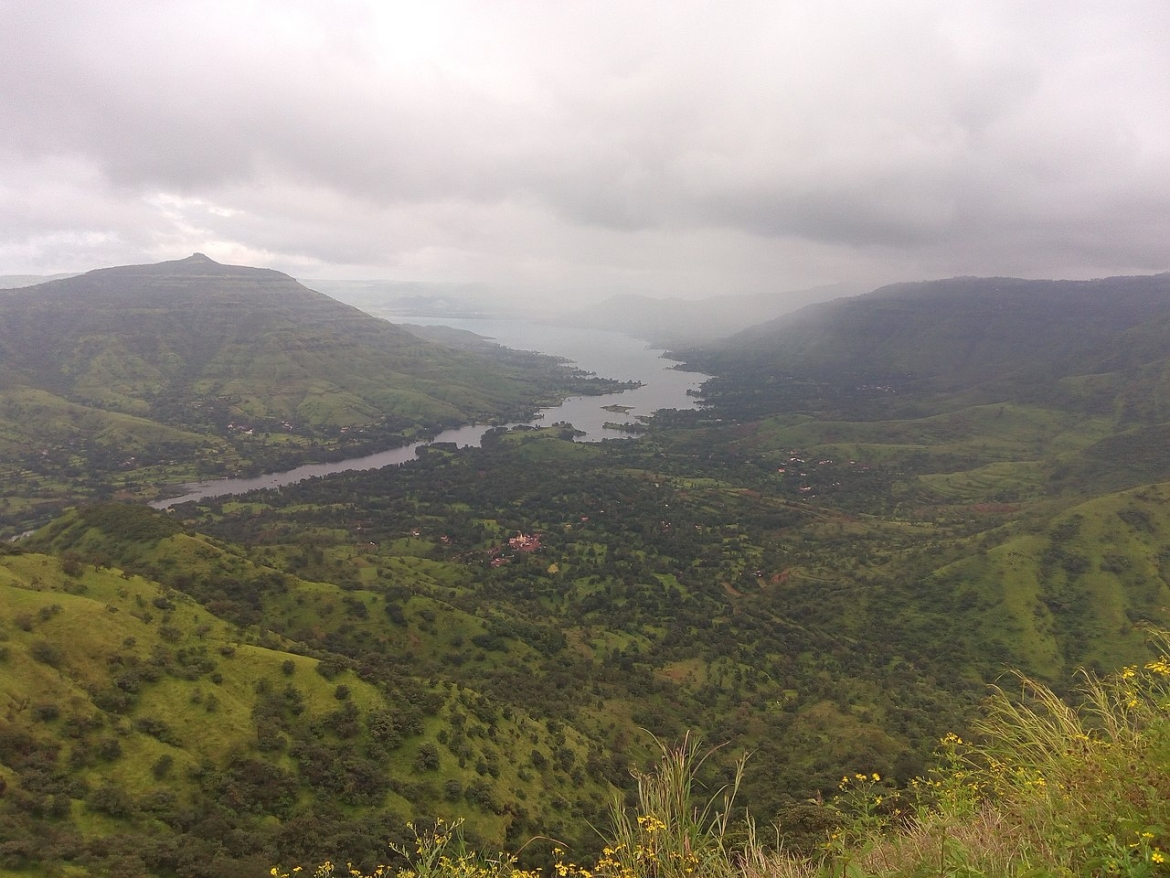 The view of Mahabaleshwar