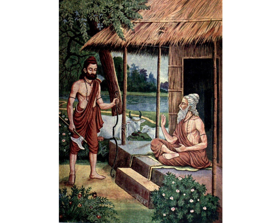 Lord Parashuram and Rishi Jamadagni