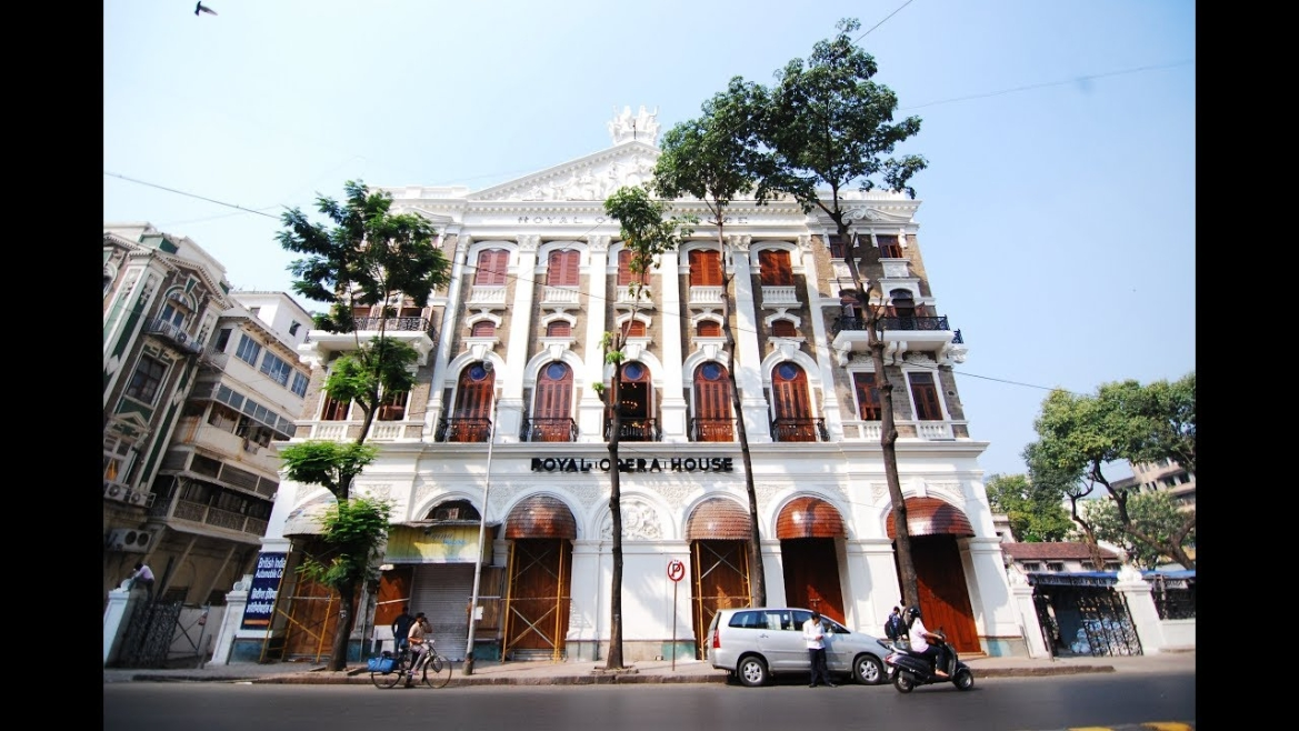The Royal Opera House in Mumbai