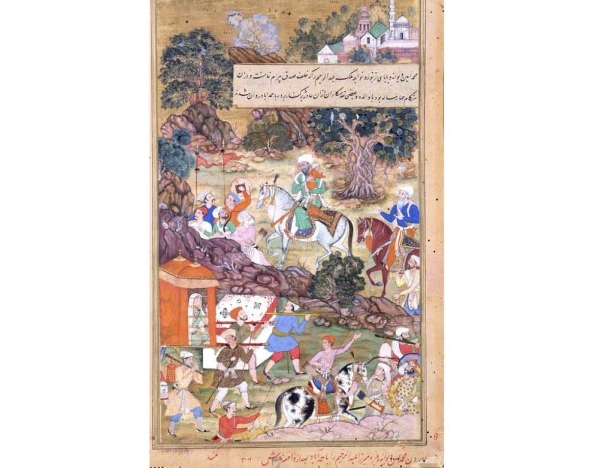 Illustration from Akbarnama