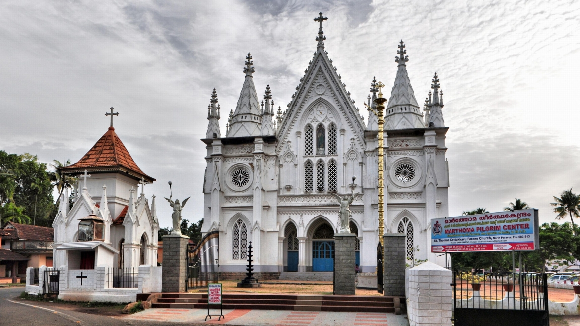 Kottakkavu Mar Thoma Syro-Malabar Pilgrim Church as seen today