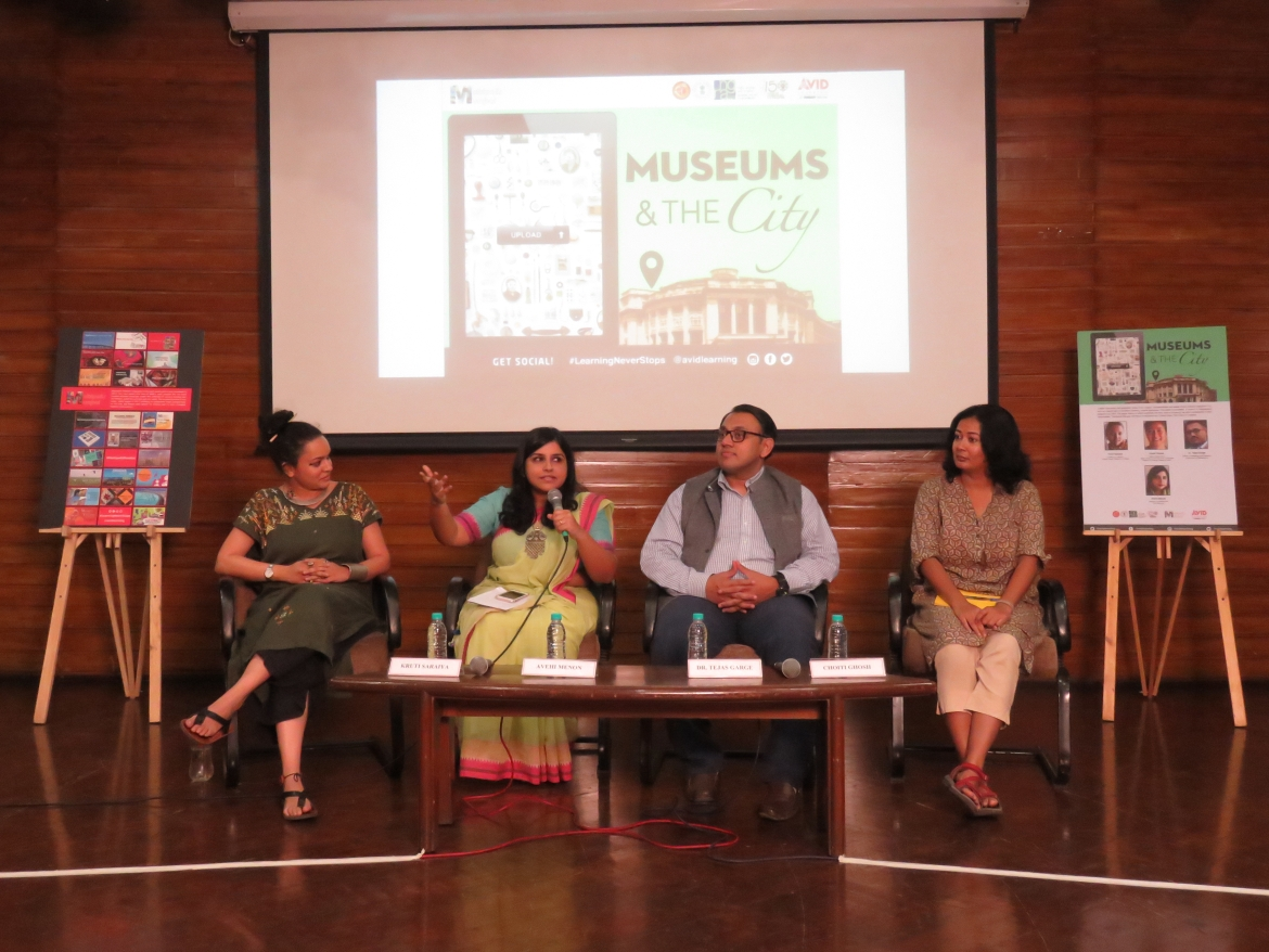 The Panel (L to R): Kruti Saraiya, Avehi Menon, Dr. Tejas Garge and Choiti Ghosh