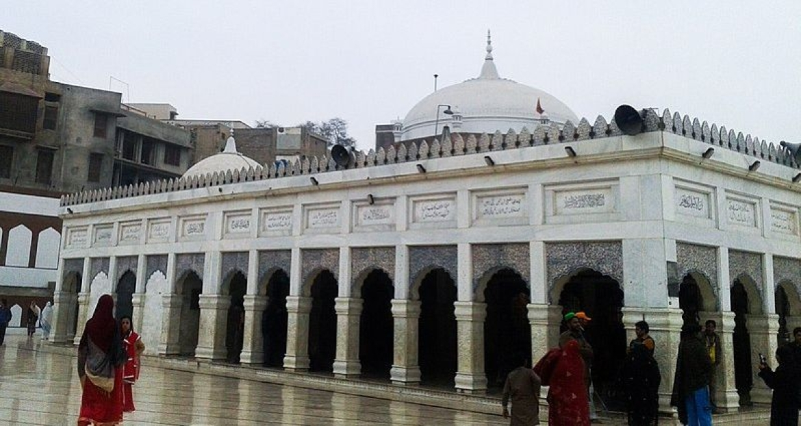 Baba Farid Shrine at Pakpattan, Punjab, Pakistan